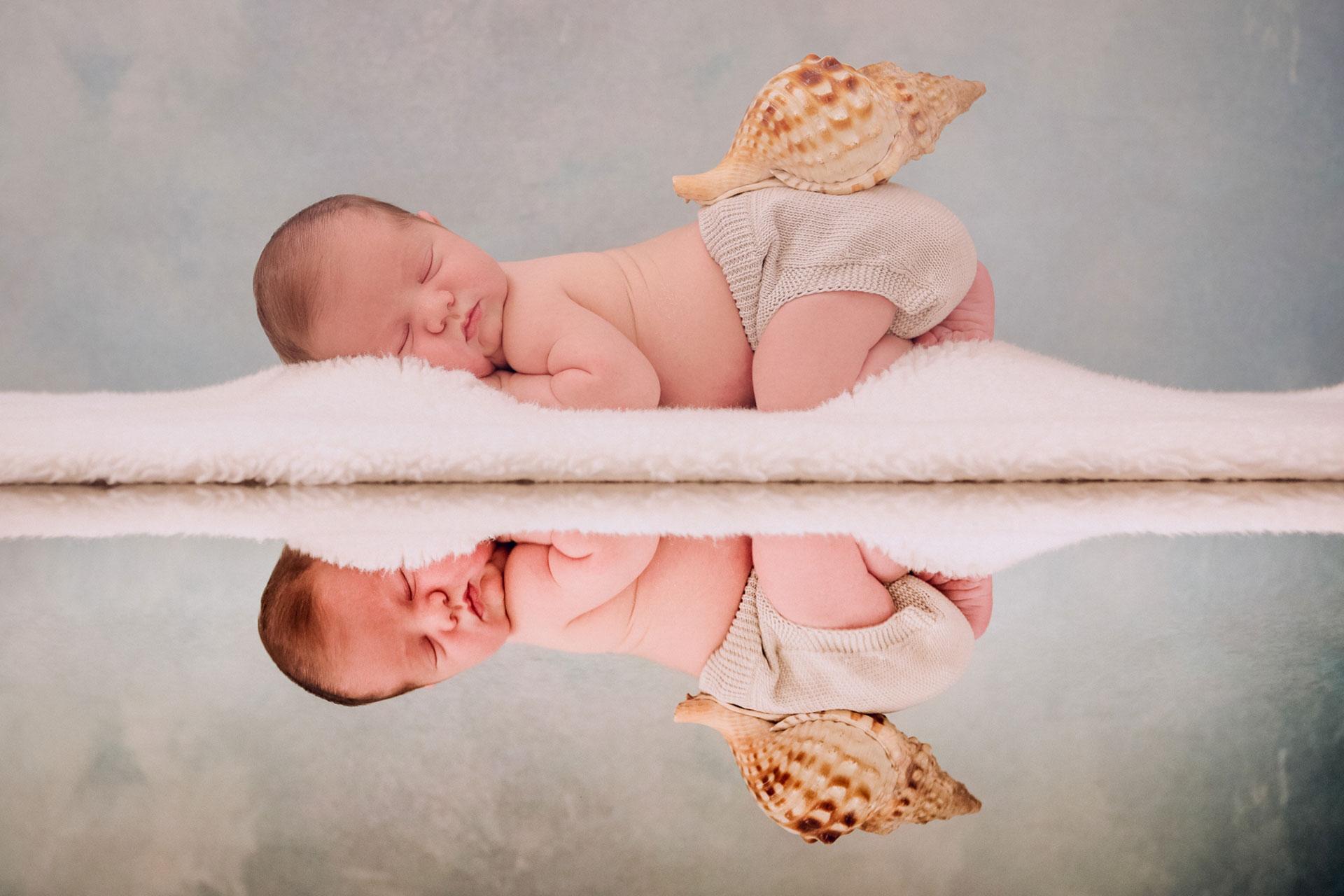 Fotografía Recién Nacido durmiendo