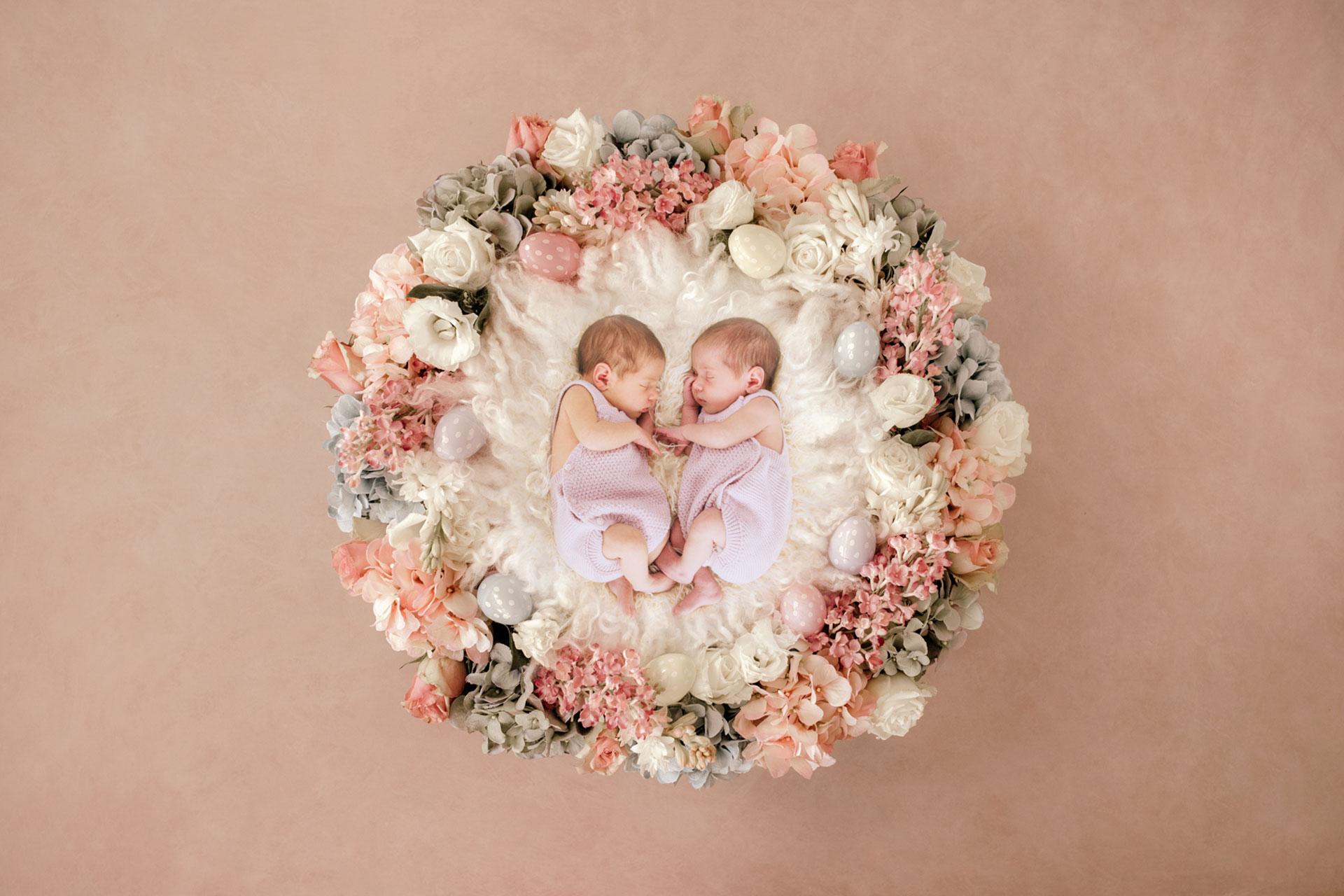 Fotografía pareja de Recién Nacido