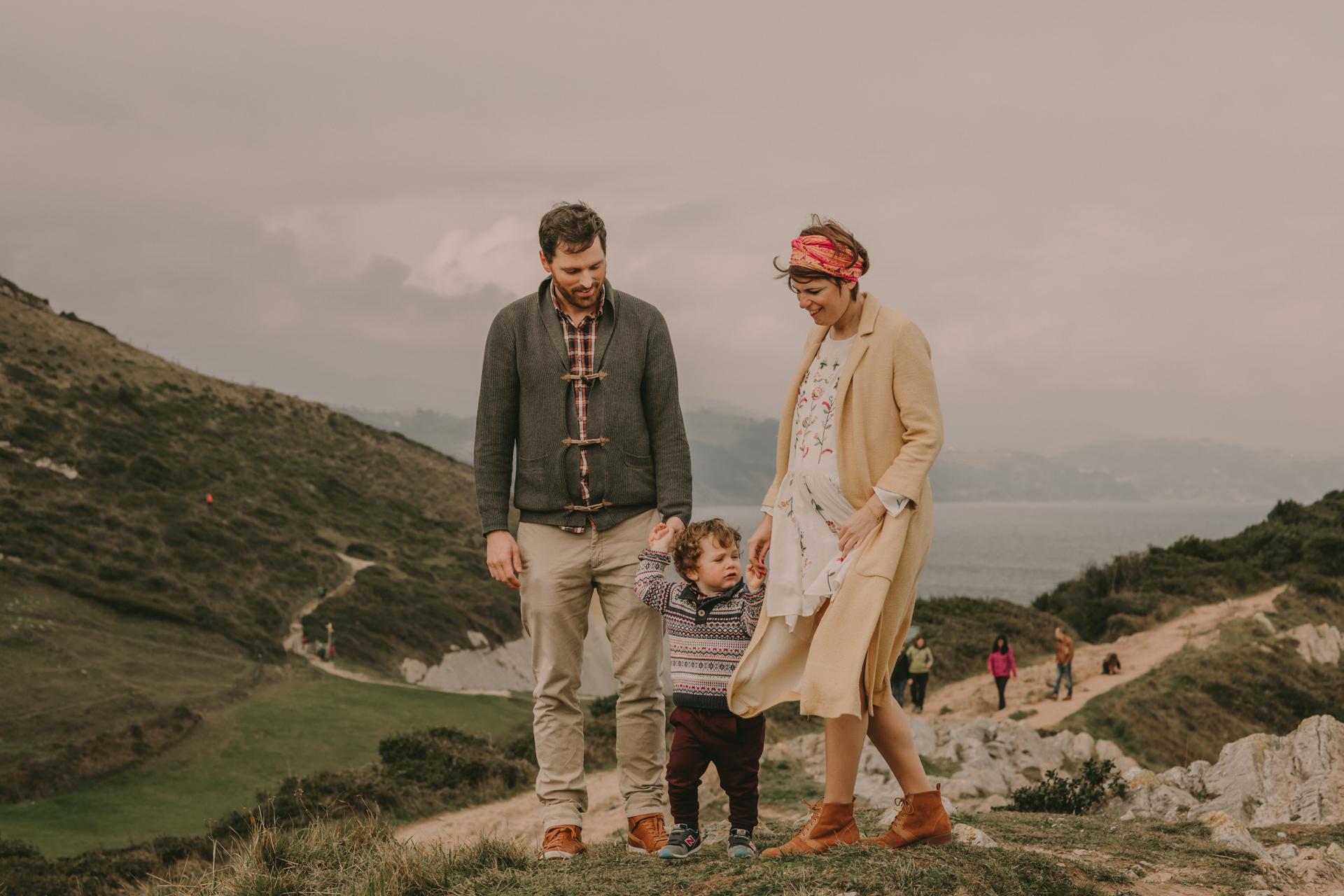 Fotografo maternidad Donostia San Sebastian